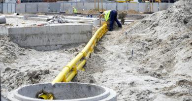 Straßen- und Kanalisationsanschluss