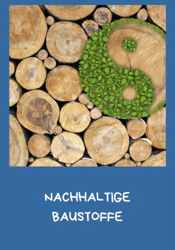 nachhaltige Baustoffe